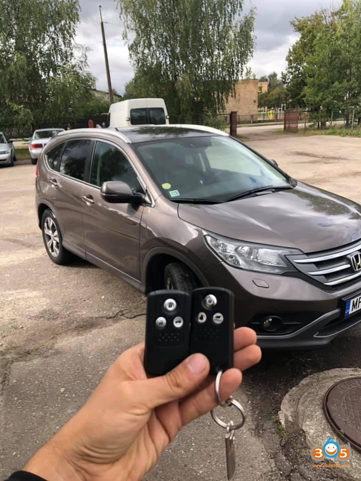 Honda CRV 2014 smart Key program 2