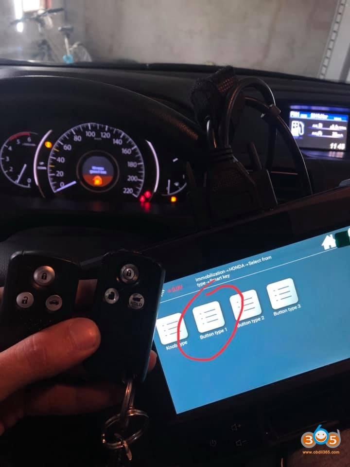 Honda CRV 2014 smart Key program