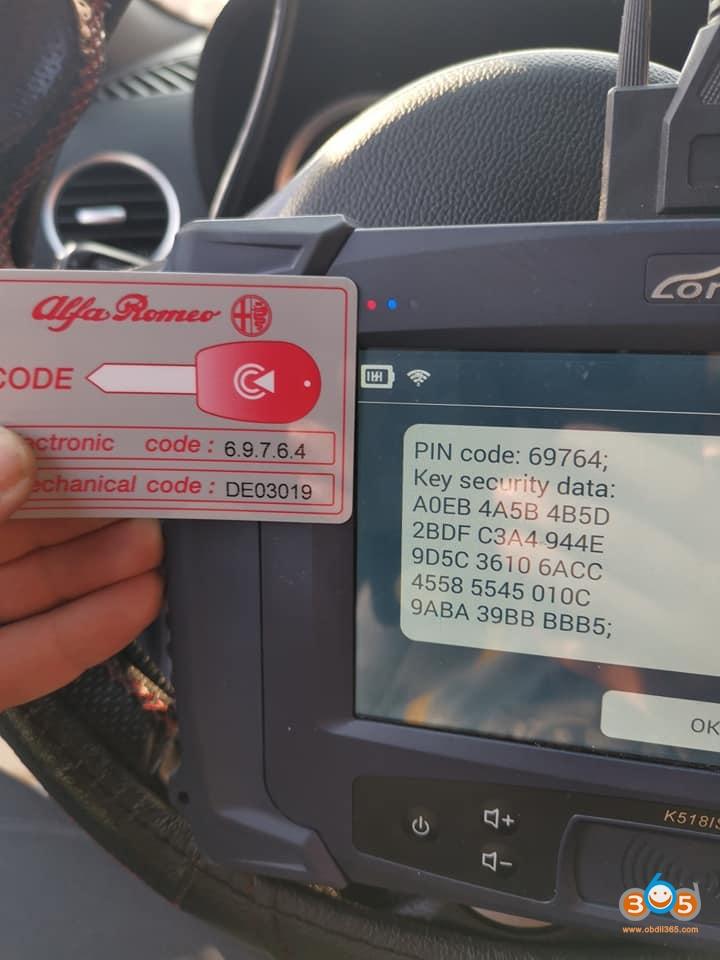 lonsdor-k518ise-Alfa-Romeo-159-add-key-5