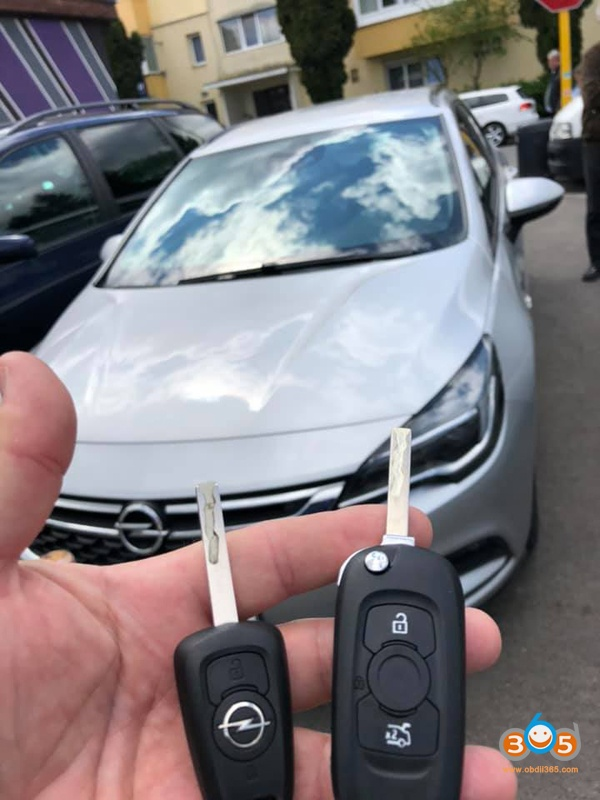 Lonsdor k518ise 2016 Opel Astra K immo 1